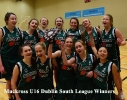 U16 Dublin South League Winners