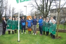 The Raising of our 'Green School' Flag